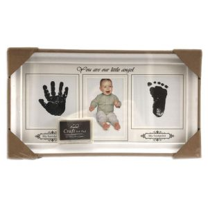 cuadro huellitas del bebe