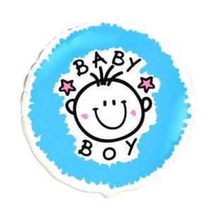 globo de helio baby boy