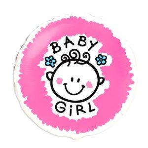 globo de helio baby girl