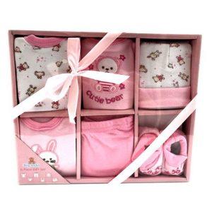 pack ropita x6 para bebe niña