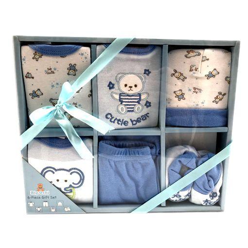 pack ropita x6 para bebe niño