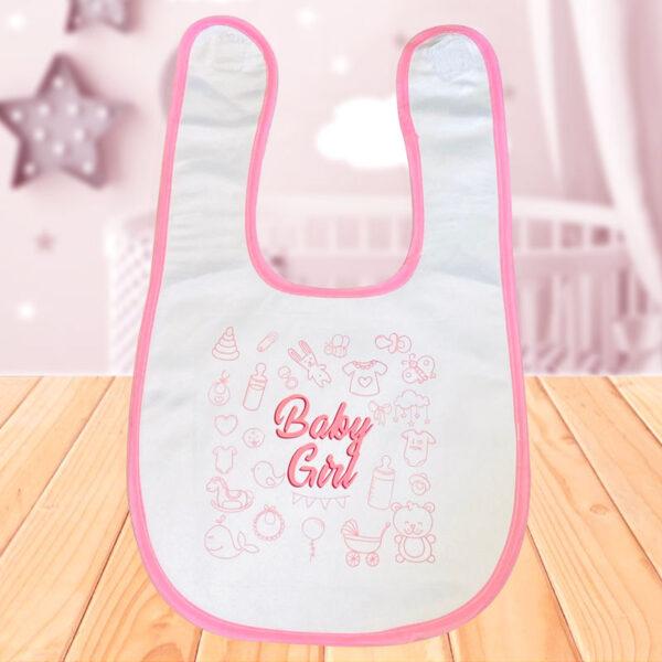 Babero Baby Girl