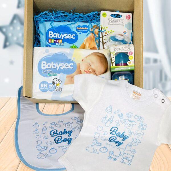 canasta box baby boy